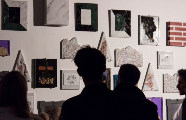 Ex Voto. Exhibition view at Ex Dogana, Roma 2018. Photo (c) Mattia Morelli