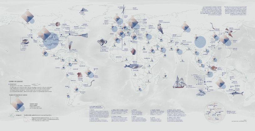 Fragapane, Mappa del cielo
