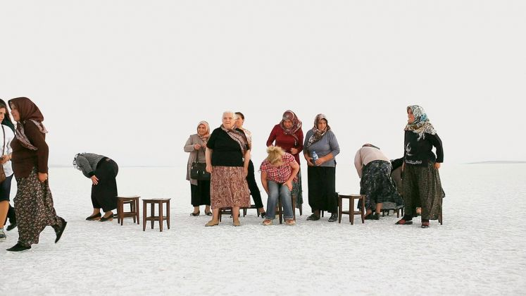 Fatma Bucak, Suggested place for you to see it, 2013. Still da video