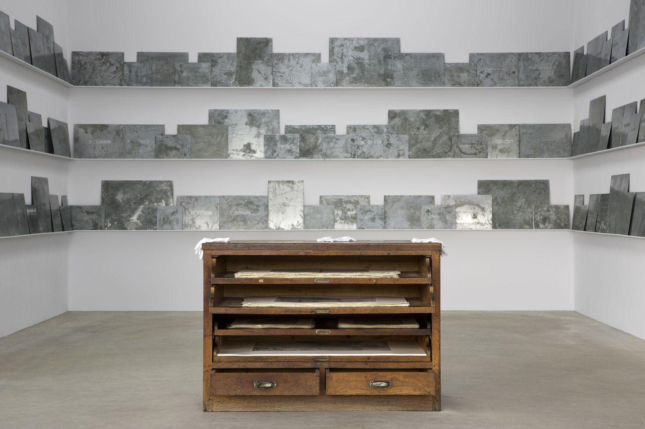 Fatma Bucak. So as to find the strength to see. Exhibition view at Fondazione Merz, Torino 2018. Photo Renato Ghiazza