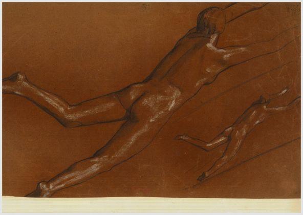 Ferruccio Ferrazzi, Studio per scuola di nuoto, 1932