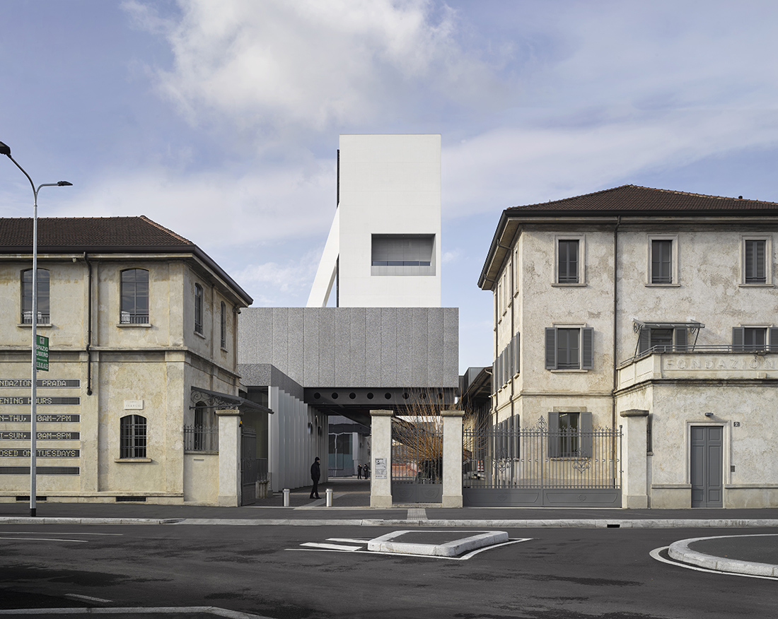 Torre Fondazione Prada, Milano Progetto architettonico di OMA Foto: Bas Princen 2018 Courtesy Fondazione Prada