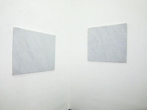 Francesco Arena, occhio destro occhio sinistro, 2011. Installation view at Peep Hole, Milano