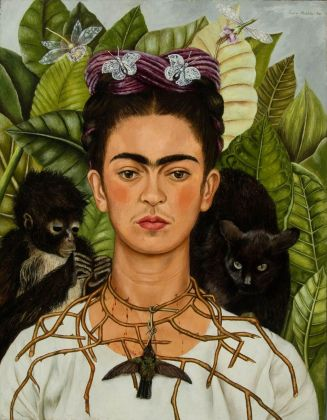 Frida Kahlo, Autoritratto, 1940. Harry Ransom Center – The University of Texas, Austin. Credits © Banco de México Diego Rivera Frida Kahlo Museums Trust, México, D.F. by SIAE 2018