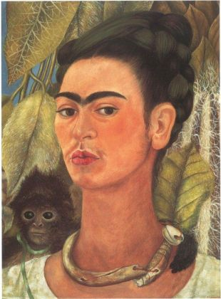 Frida Kahlo, Autoritratto con scimmia, 1938. Albright Knox Art Gallery. Photo © Tom Loonan. Credits © Banco de México Diego Rivera Frida Kahlo Museums Trust, Mexico, D.F. by SIAE 2018