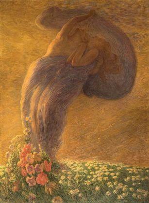 Gaetano Previati, Il Sogno, 1912. Collezione privata