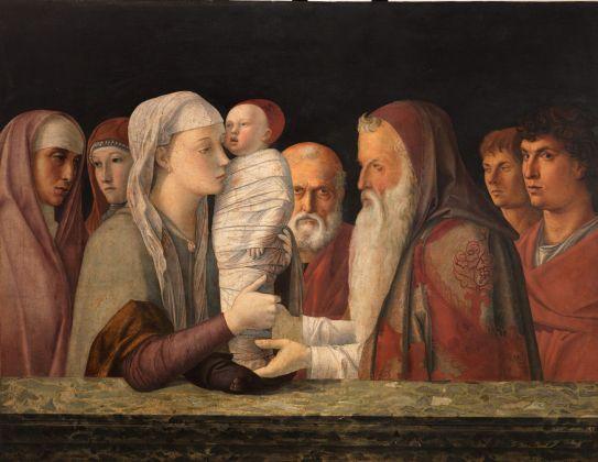 Giovanni Bellini, Presentazione al Tempio, 1470-80. Fondazione Querini Stampalia, Venezia