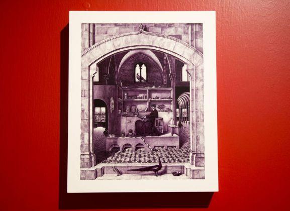 Giuseppe Stampone. Exhibition view at CIAC, Foligno 2018. Photo Emanuele Gurini