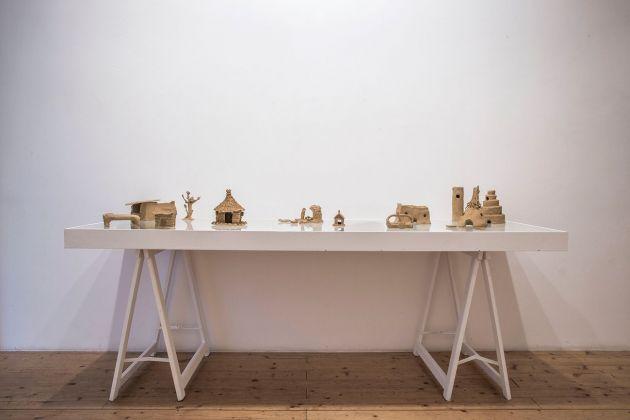 Guendalina Salini. Riparo. Installation view at Fondazione Pastificio Cerere, Roma 2018