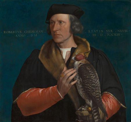 Hans Holbein il Giovane, Robert Cheseman, 1531. Hampton Court, Royal Collection
