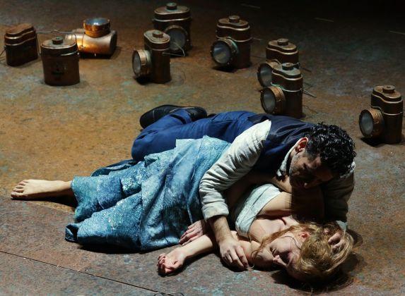 Hofesh Shechter, Orfée et Euridice, Teatro alla Scala, Milano 2018. Photo credit Brescia / Amisano – Teatro alla Scala