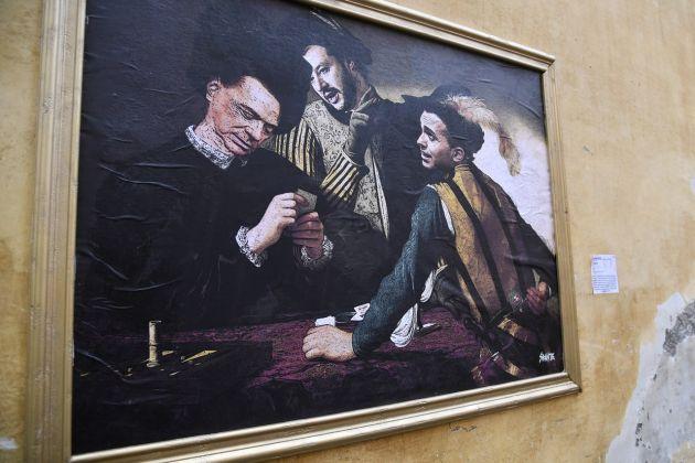 I Bari di Caravaggio rivisti da Sirante