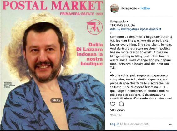 Il Crepaccio @ Instagram show. Thomas Braida