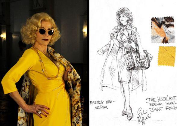 Il costume di Carlo Poggioli per Jane Fonda in Youth