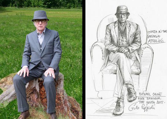 Il costume di Carlo Poggioli per Michael Caine in Youth