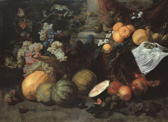 Jan Roos, Natura morta di frutta Genova, Musei di Strada Nuova, Palazzo Bianco