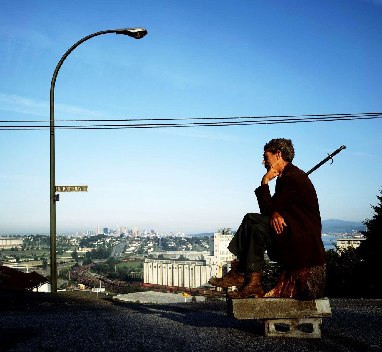 Jeff Wall, The Thinker, 1986