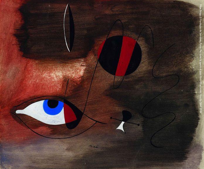 Joan Miró, Apparitions, 1935. Filipe Braga, © Fundação de Serralves, Porto. ©Successió Miró by SIAE 2018