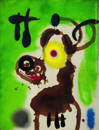Joan Miró, Femme et oiseau, 1959. Filipe Braga, © Fundação de Serralves, Porto. © Successió Miró by SIAE 2018