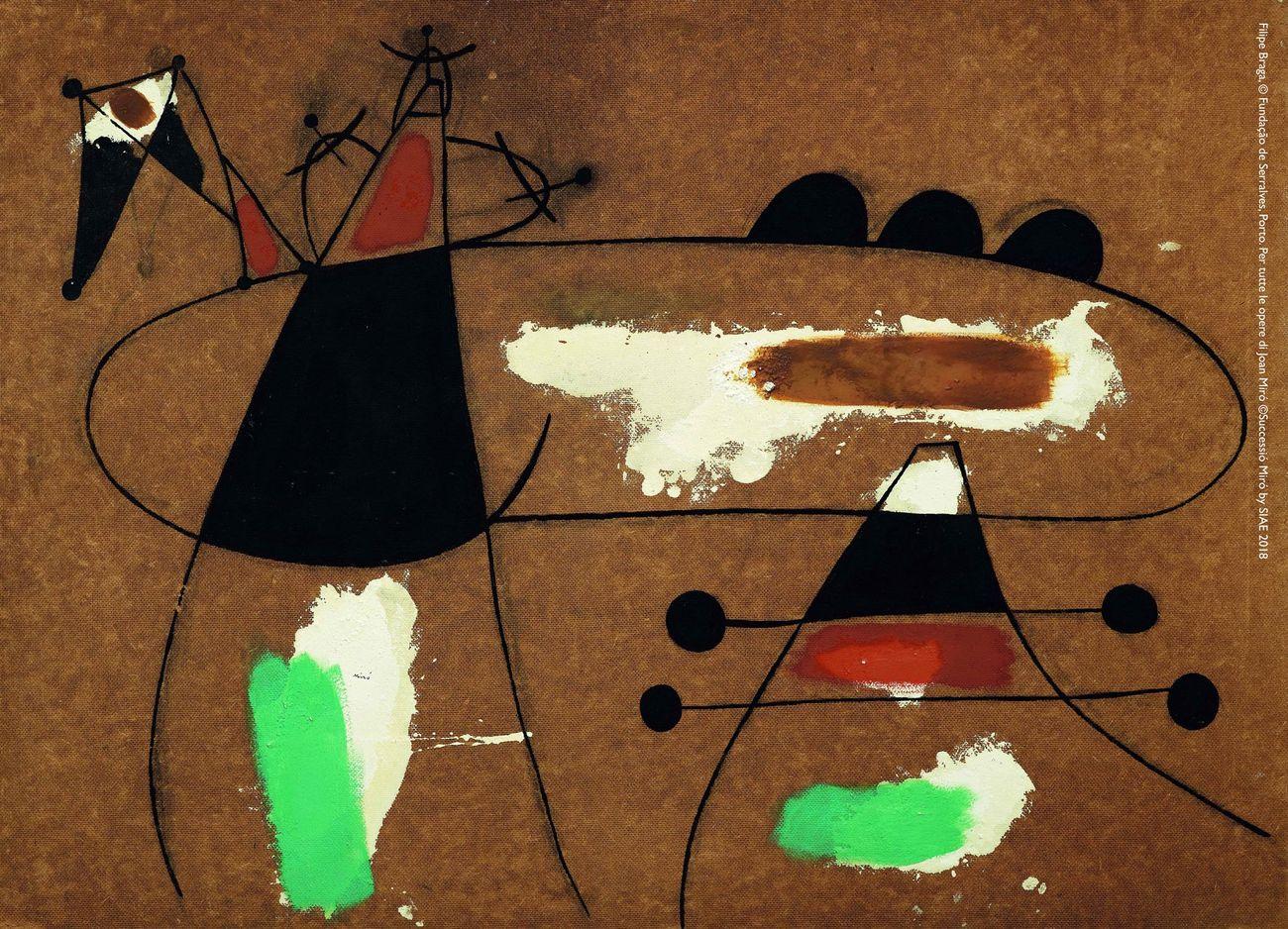 Joan Miró, Peinture, 1936. Filipe Braga, © Fundação de Serralves, Porto. ©Successió Miró by SIAE 2018