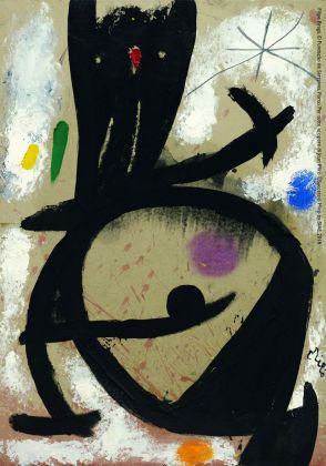 Joan Miró, Personnage, étoile, 1978. Filipe Braga, © Fundação de Serralves, Porto. ©Successió Miró by SIAE 2018