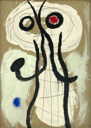 Joan Miró, Personnage, 1960. Filipe Braga, © Fundação de Serralves, Porto. ©Successió Miró by SIAE 2018