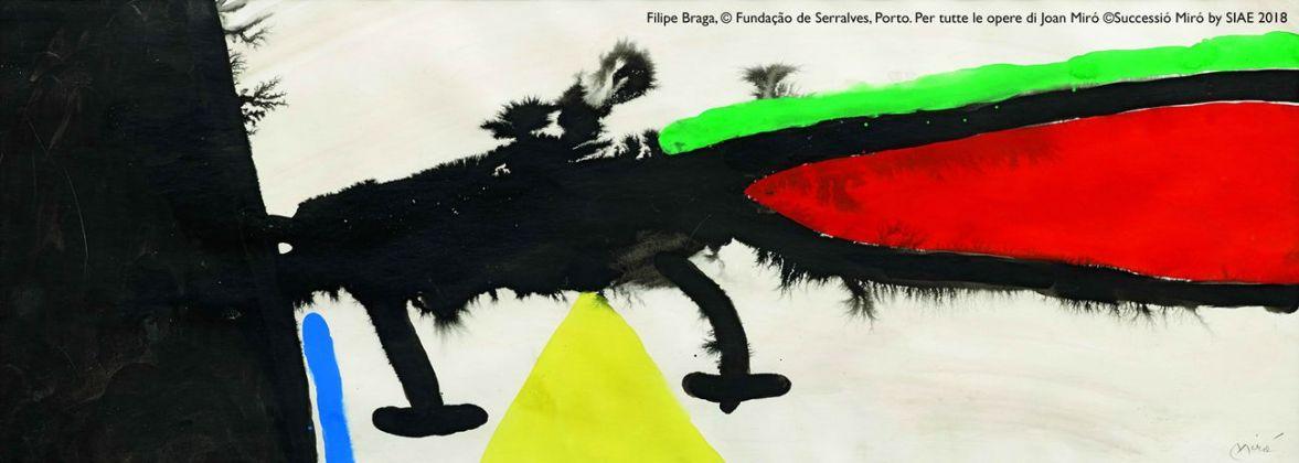Joan Miró, Senza Titolo [II], 1970. Filipe Braga, © Fundação de Serralves, Porto. ©Successió Miró by SIAE 2018