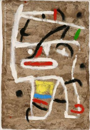 Joan Miró, Senza titolo, 1981. Filipe Braga, © Fundação de Serralves, Porto. ©Successió Miró by SIAE 2018