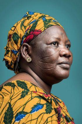Joana Choumali, Mme Djeneba Haabré, la dernière génération, 2013-14 © Joana Choumali & 50 Golborne Gallery