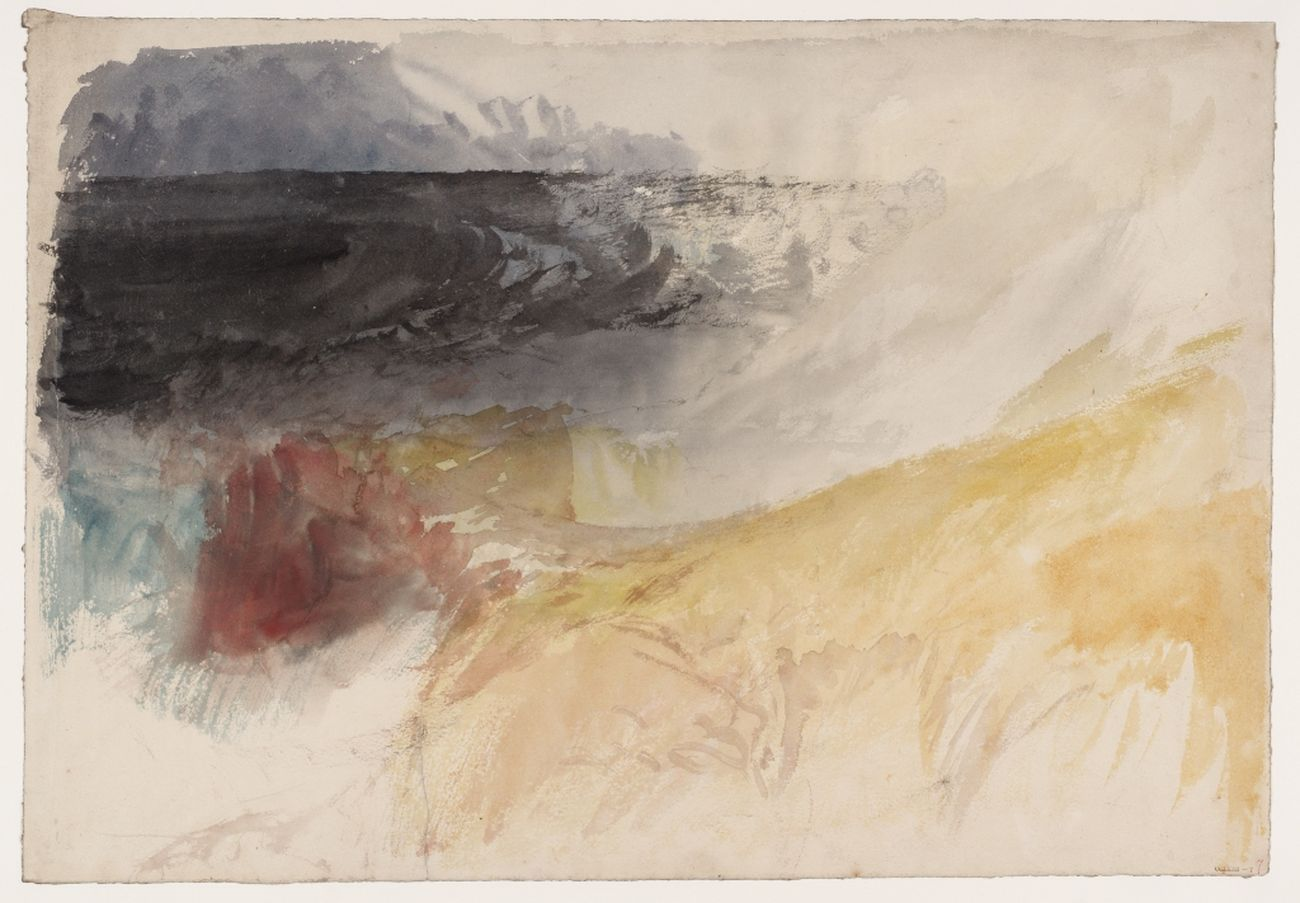 Joseph Mallord William Turner, Land's End Cornwall, 1834. Tate