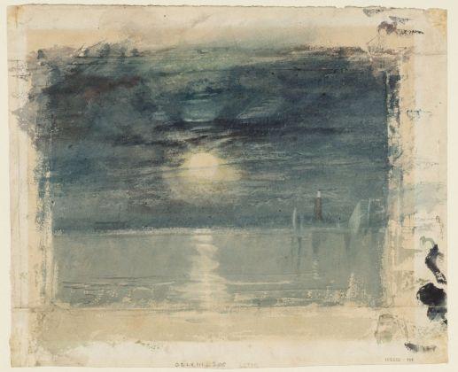 Joseph Mallord William Turner, Shields Lighthouse, 1823. Tate