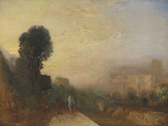 Joseph Mallord William Turner, The Arch of Constantine, Rome, 1835. Tate