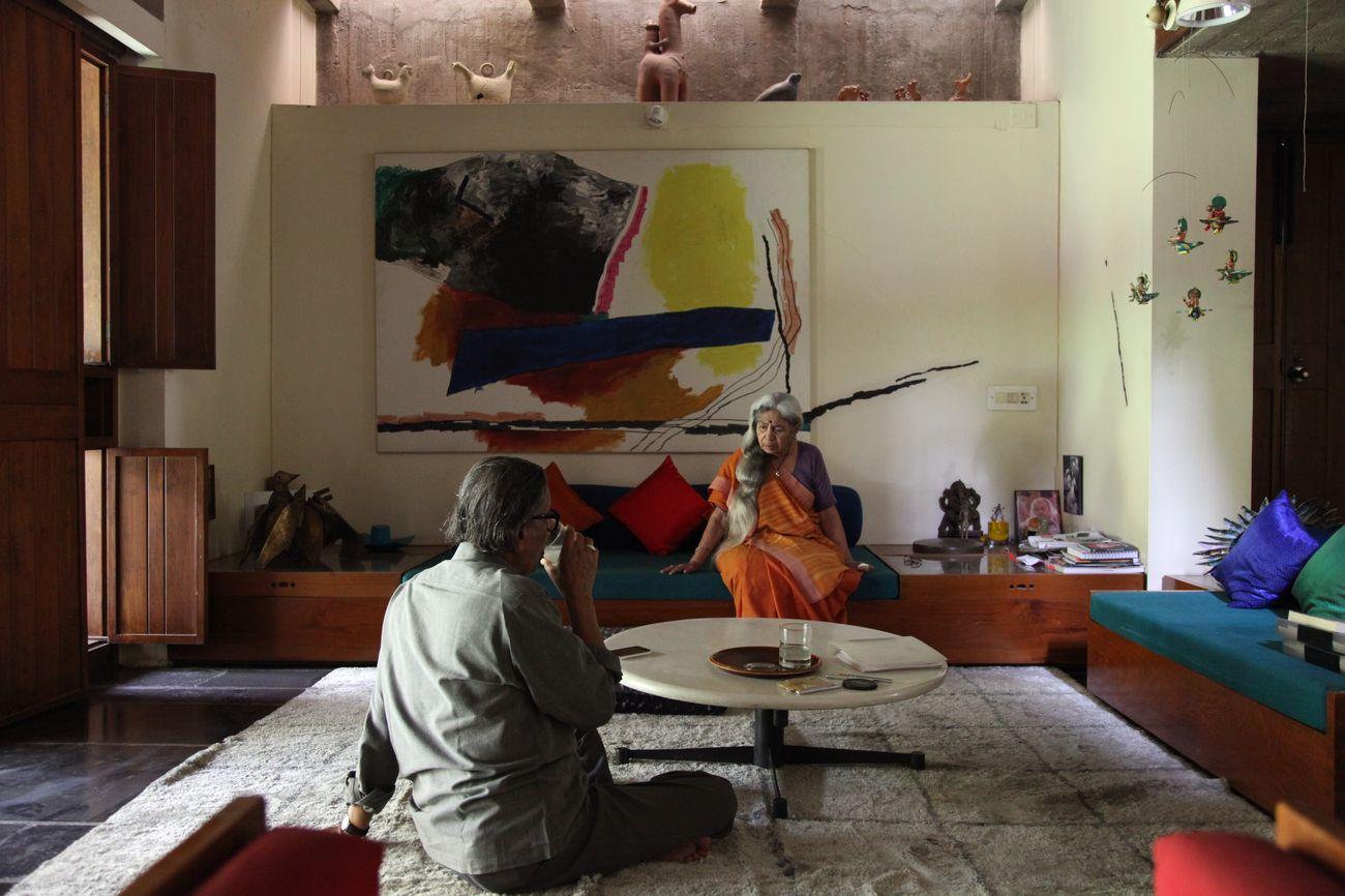Kamala House, la residenza di Doshi ad Ahmedabad, aprile 2011