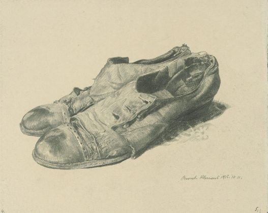 Klemens Brosch, Ringraziamento all'invalido, 1915 Graphic arts collection, Landesgalerie Linz, Upper Austrian State Museum