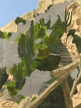 Latifa Echakhch, Sans titre (Le jardin exotique), 2018 © Latifa Echakhch. Courtesy kamel mennour, Parigi-Londra, kaufmann repetto, Milano-New York, Galerie Eva Presenhuber, Zurigo-New York, Dvir Gallery, Brussels-Tel Aviv