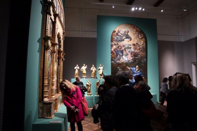 La fragilità della bellezza. Tiziano, Van Dyck, Twombly e altri 200 capolavori restaurati, Reggia di Venaria, photo Claudia Giraud