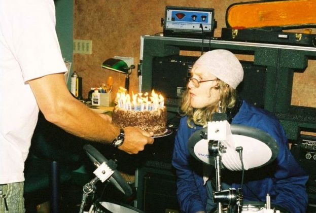 Layne Staley in studio, settembre 1998