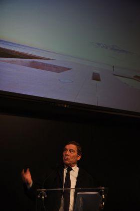 Lectio magistralis di Alberto Campo Baeza in occasione della consegna del Piranesi Prix de Rome alla Carriera 2018. Photo © Dan Andresan