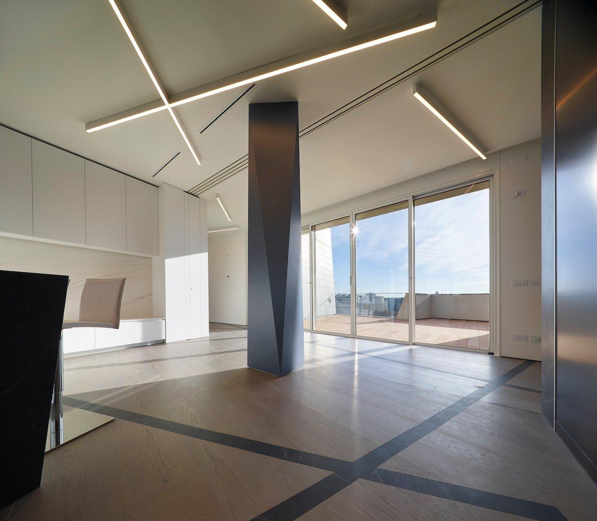 Lualdi spa, Libeskind Studio, Milan