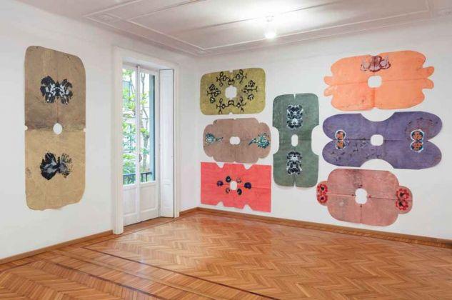 Lupo Borgonovo. Alexandra. Installation view at Galleria Monica De Cardenas, Milano 2018. Photo credit Andrea Rossetti