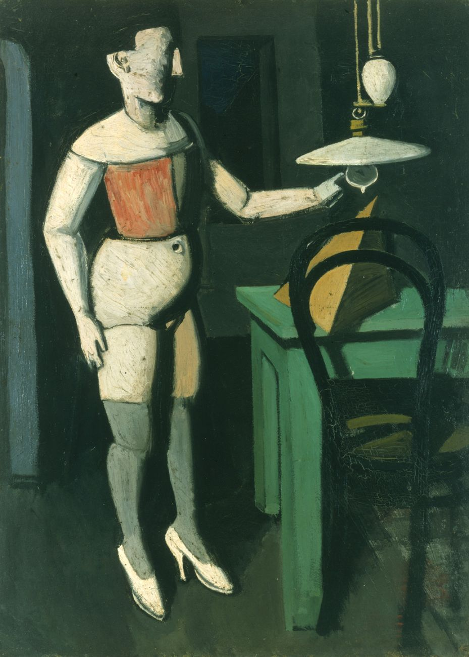 Mario Sironi, La lampada, 1919. Pinacoteca di Brera, Milano