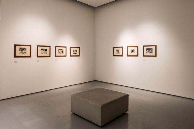 Mario Sironi e le illustrazioni per Il Popolo d'Italia 1921-1940. Installation view at Lu.C.C.A., Lucca Center of Contemporary Art, 2018