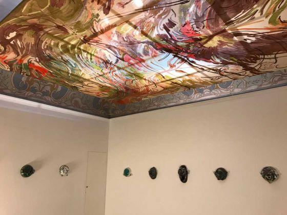 Matthew Lutz-Kinoy. Installation view at Indipendenza Studio, Roma 2018