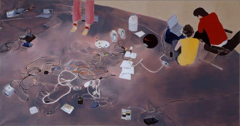Miltos Manetas, The Italian Painting, 2000. Courtesy Fondazione MAXXI, Roma