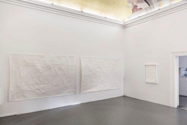 Monika Grzymala. Disegno. Installation view at Eduardo Secci Contemporary, Firenze 2018