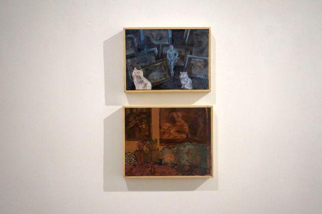 Mottenwelt I. Barbara De Vivi. Installation view at Galleria Marcolini, Forlì 2018