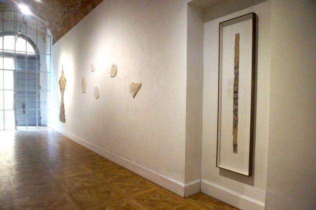 Mottenwelt I. Installation view at Galleria Marcolini, Forlì 2018