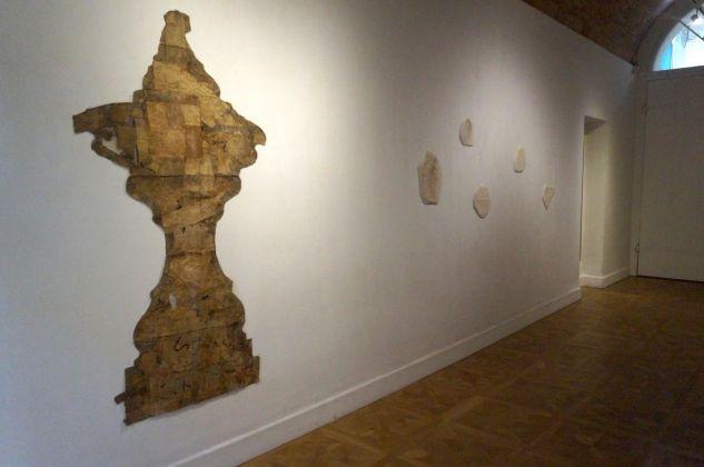 Mottenwelt I. Luca Caccioni. Installation view at Galleria Marcolini, Forlì 2018