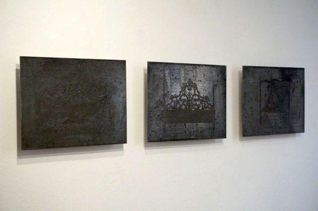 Mottenwelt I. Silvia Giambrone. Installation view at Galleria Marcolini, Forlì 2018