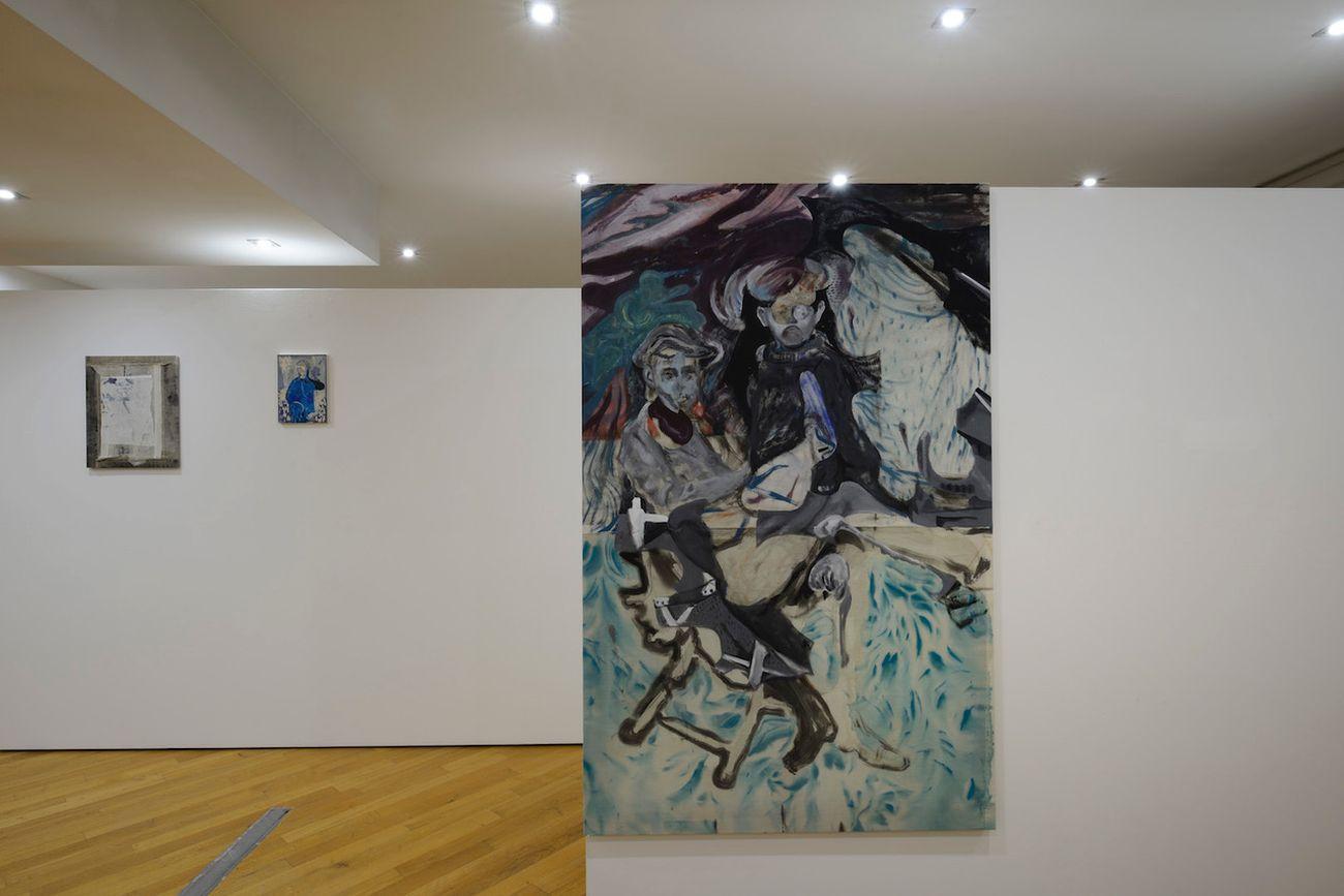 Nebojša Despotović. Between the Devil and the Deep Blue Sea ovvero Freie Kartoffeln. Exhibition view at Boccanera Gallery, Trento 2018